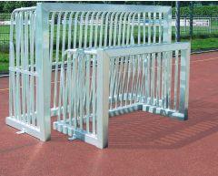 Neospiel fotballmål i aluminium 0,8 x 1,2 m
