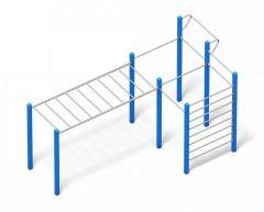 4FCIRCLE® Calisthenics-Stasjon Crazy Bars