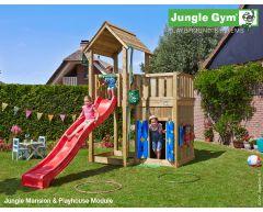 Jungle Mansion m/sklie og Playhouse Module