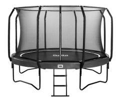 SALTA First Class Edition trampoline 430 med sikkerhetsnett og stige