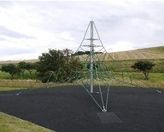 Firkantet 3D klatrepyramide 4,0 m Active 4000