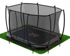 Trampoline PRO-Line 5,2x3,1m INNGROUND med nett