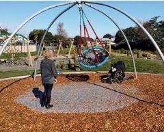 Huskestativ Giant Swing med fugleredehuske