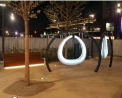 Interaktiv hengekøye med lys New Amsterdam