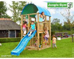 Jungle Farm lekestativ med 2 sklier