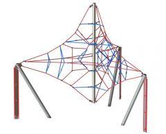 Trekantet hengende klatrepyramide Levitator 3