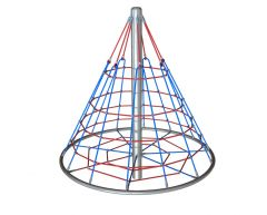 Roterende klatrepyramide Cone Climber 2,4 m