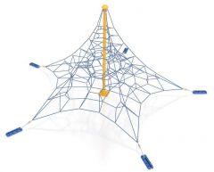 3D femkantet klatrepyramide Eggi 4,5 m