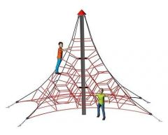 3D Klatrepyramide 4,3 m Spider 4-4