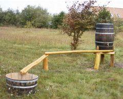 Robinia vannkanal 2 m