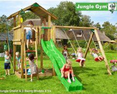 Jungle Chalet m/sklie og Swing module Xtra