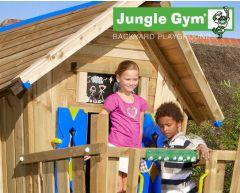 Jungle Crazy Playhouse CXL m/brannmannstang og Climb Module Xtra