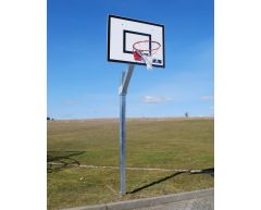 Basketballstativ med glassfiberplate