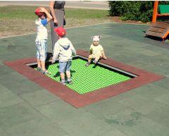 Stor trampoline Flagemus (2,5x2,0)