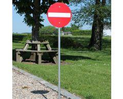 Trafikkskilt - Innkjøring forbudt