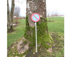 Trafikkskilt - Parkering forbudt