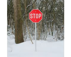 Trafikkskilt - Stoppskilt