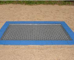 Mellomstor trampoline B2 (1,8x1,5)