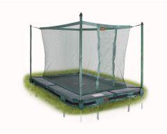 Trampoline Inground PRO-Line 2,2x1,6m med nett