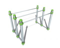 JMP Trippel parallel bars Calisthenics